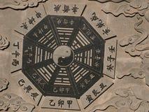 Bagua diagram Fotografia Royalty Free