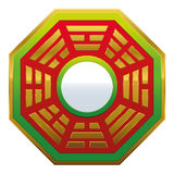 Bagua Mirror Feng Shui Stock Photo