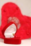 Bague de fiançailles Image libre de droits