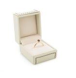 Bague de fiançailles dans le boîte-cadeau Image libre de droits