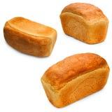 Baguett stabilito del forno della pagnotta dell'alimento isolato pane Fotografia Stock Libera da Diritti