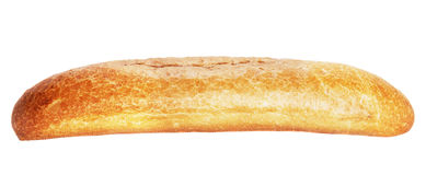 Baguette. Bread baguette isolated on white background Royalty Free Stock Images