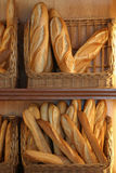 Baguette_6713. French loaves for sale in a bakery royalty free stock photography