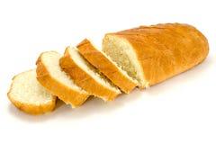 Baguette affettate del pane fresco Fotografie Stock Libere da Diritti