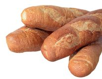 Baguette bread Stock Photography