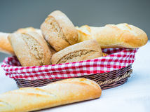 Baguette and bread Stock Photography