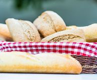 Baguette and bread Royalty Free Stock Image