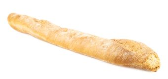 Baguette bread isolated Royalty Free Stock Photos