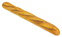 Baguette bread isolated on white background Stock Photo