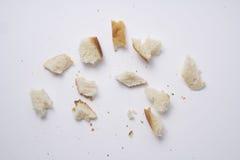 Baguette Chlebowe kruszki fotografia stock