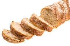 Baguette crujiente francés del pan Imágenes de archivo libres de regalías