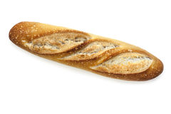 Baguette d'isolement Photo stock