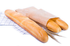 Baguette de Frances Photographie stock libre de droits
