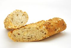 Baguette do cereal Foto de Stock Royalty Free