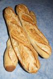 Baguette either simply baguettes. A baguette either simply baguette, so called baguette of Paris, or still French loaf, but also bread baguette is a variety of Stock Photography