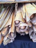 Baguette francesi croccanti immagine stock