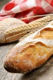 baguette francuz Fotografia Royalty Free