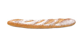 Baguette. French bread / baguette isolated on white background Royalty Free Stock Photos