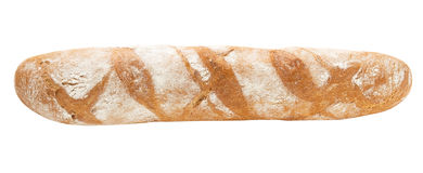 Baguette fully isolated Royalty Free Stock Images