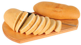Baguette. Isolated Stock Photography