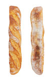 Baguette isolated on white Stock Photography