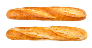 Baguette. Isolated on white background Stock Photo