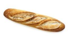 Baguette isolato Fotografia Stock