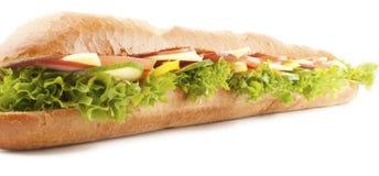 Baguette kanapka obrazy stock