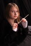 baguette magique d'adolescent Image libre de droits