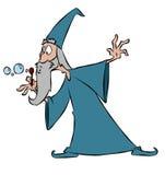 Baguette magique magique illustration de vecteur
