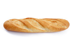 Baguette over white Royalty Free Stock Photography