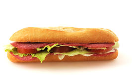 Baguette roll Royalty Free Stock Images