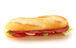 Baguette roll Stock Images