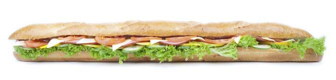 Baguette Sandwich Stock Images