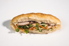 Baguette sandwich vietnamese style Royalty Free Stock Photography