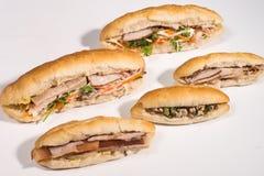 Baguette sandwich vietnamese style Royalty Free Stock Image