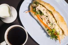 Baguette sandwich Vietnamese style Stock Image