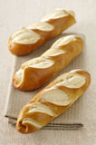 Baguette-shaped bretzels Stock Image