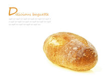 Baguette in space Stock Image