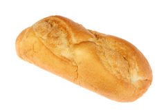 Baguette on white. Royalty Free Stock Photos