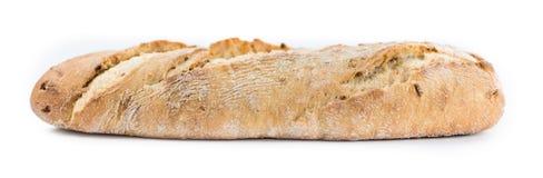 Baguette  on white Stock Photos