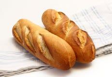 baguettes świezi dwa Fotografia Stock