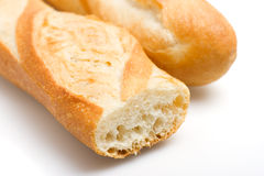 baguettes γαλλικά στοκ εικόνα