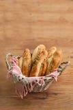 Baguettes checos Pivní de la cerveza rohlíky Imagen de archivo libre de regalías