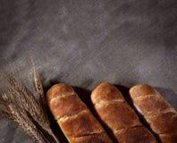 Baguettes con spazio per testo Fotografia Stock Libera da Diritti