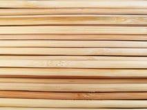 Baguettes en bambou Photos stock