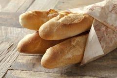 Baguettes françaises photographie stock libre de droits