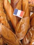 Baguettes franceses Fotografia de Stock