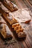 Baguettes franceses frescos Fotos de archivo libres de regalías