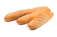 Baguettes isolated Royalty Free Stock Photography